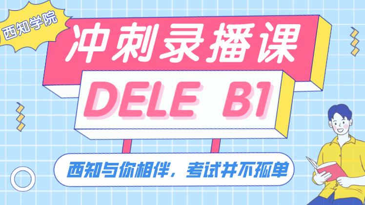 DELE B1 冲刺录播课
